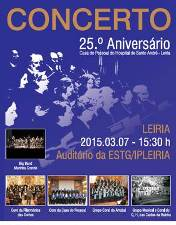 Casa do Pessoal do HSA assinala 25 anos com concerto comemorativo