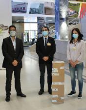 Delegação Distrital de Leiria da ANAFRE oferece equipamento médico-cirúrgico ao CHL