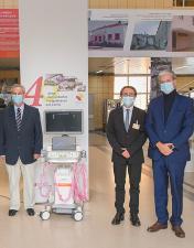 Siemens oferece ecógrafo de última geração  ao Serviço de Medicina Intensiva do CHL