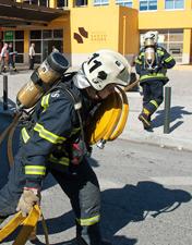 HSA testa capacidade de resposta dos serviços em simulacro de incêndio