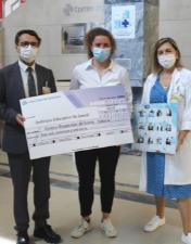 Instituto Educativo do Juncal entrega donativo ao Serviço de Pediatria do CHL