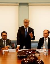 Secretário de Estado da Saúde apadrinha protocolo do CHL com o Grupo Lusiaves