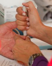 CHL sensibiliza comunidade para prevenir e viver com Diabetes