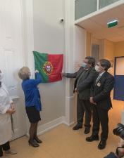 Marta Temido inaugura Unidade de Internamento de Cuidados Paliativos