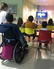 Pediatria do CHL assinala Dia Mundial da Criança com visita virtual ao Aquário Vasco da Gama