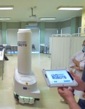 CHL recebe robô de desinfeção entregue pela Comissão Europeia em resposta à Covid-19