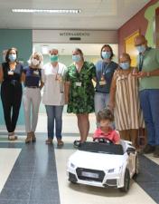Vencedor do Orçamento Partilhado do CHL oferece carro elétrico infantil à Pediatria