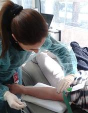 Colaboradores do CHL mostram-se solidários em campanha de dádiva de sangue