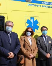 Ambulância de Suporte Imediato de Vida iniciou atividade  no HABLO