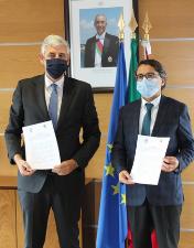 CHL e Município de Ourém formalizam protocolo de apoio financeiro para combate à Covid-19