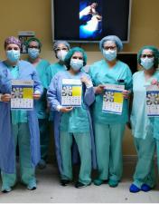 Enfermeiros do CHL elaboram poster para dar visibilidade à sua função em contexto operatório