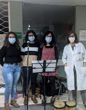 "Centro Hospitalar de Leiria ""dá"" música aos doentes internados no HSA"