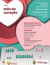 Centro Hospitalar de Leiria dedica o mês de maio à prevenção de doenças cardíacas