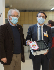 Associação de Futebol de Leiria oferece monitor ao Centro Hospitalar de Leiria