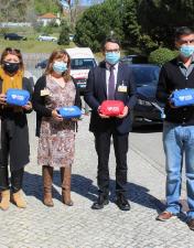 Câmara Municipal de Leiria oferece kits de proteção individual a todos os colaboradores do CHL