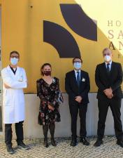 Nerlei e empresas associadas oferecem ao CHL donativos de apoio no combate à pandemia