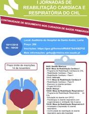 CHL dinamiza primeiras Jornadas de Reabilitação Cardíaca e Respiratória
