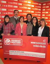 Missão Sorriso apoia projeto do HSA de melhoria de acessibilidades e promoção do envelhecimento activo
